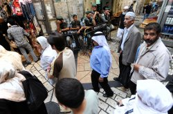 Palestinians observe Ramadan in Jerusalem