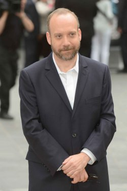 "Paul Giamatti attends the European Premiere of ""Rock Of Ages"" in London."