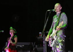 The Smashing Pumpkins perform in concert in Boca Raton, Florida
