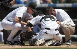Colorado Rockies Host The San Diego Padres in Denver