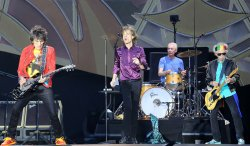 Rolling Stones perform in concert in Paris