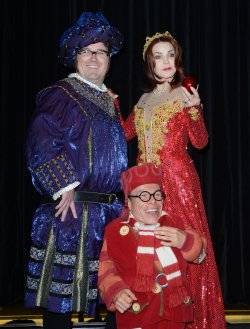 "Priscilla Presley, Jarred Christmad and Warwick Davis attend the press launch for ""Snow White And The Seven Dwarfs"""" in London"