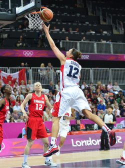 Women's Basketball Quarterfinal at the London 2012 Summer Olympics
