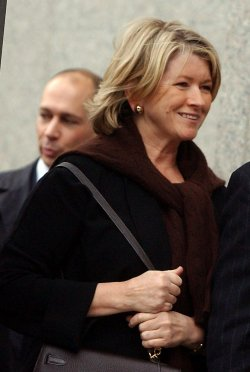 FEDERAL JUDGE RULES AGAINST MARTHA STEWART ON CHARGES REDUCTION