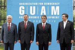 PRESIDENTS OF UKRAINE, MOLDOVA, GEORGIA AND AZERBAIJAN MEET AT THE GUAM SUMMIT IN KIEV