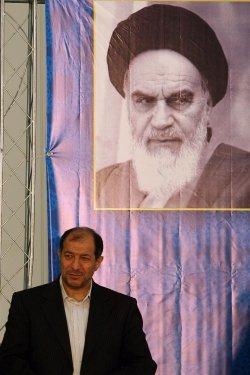 Iranian President Ahmadinejad speaks in Tehran