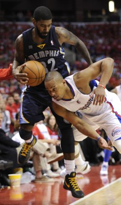 Los Angeles Clippers vs Memphis Grizzlies Game 1 NBA Western Conference Playoffs in Los Angeles