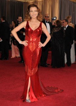 Jane Seymour arrives for the 84th Academy Awards in Los Angeles