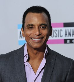 Singer Jon Secada arrives at the 39th American Music Awards in Los Angeles