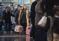 Air Travel ahead of the Thanksgiving Holiday in Washington, D.C.