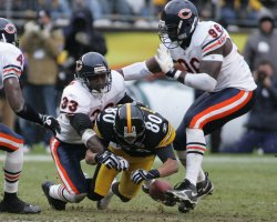 CHICAGO BEARS AT PITTSBURGH STEELERS