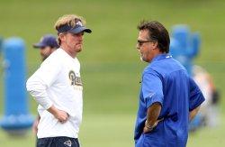 St. Louis Rams begin practice