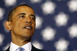 U.S. President Obama delivers remarks Xavier University in New Orleans