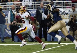 WASHINGTON REDSKINS VS ST. LOUIS RAMS FOOTBALL