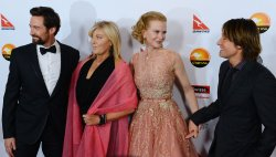 Hugh Jackman, Keith Urban, Nicole Kidman and Deborra-Lee Furness attend G'Day USA gala in Los Angeles
