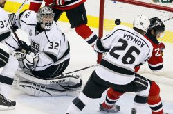 Los Angeles Kings vs. New Jersey Devils in game 1 of the Stanley Cup Finals in New Jersey