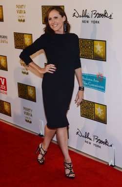 Molly Shannon attends the 3rd annual Critics' Choice Television Awards in Beverly Hills, California
