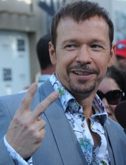"Donnie Wahlberg attends the ""Zookeeper"" premiere in Los Angeles"