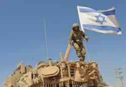 Israeli Tanks Wait To Enter Gaza