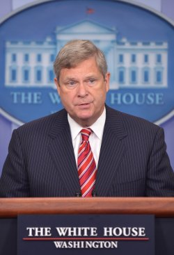 Agriculture Secretary Tom Vilsack speaks on the Drought Impacting American Farmers in Washington, D.C.