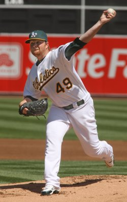 Oakland A's Brett Anderson gets win against the Seattle Mariners