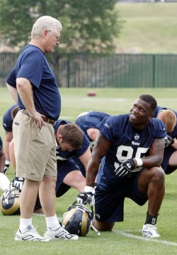 ST. LOUIS RAMS BEGIN MANDATORY MINI CAMP