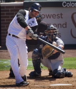 Colorado Hosts Milwaukee at Coors Field in Denver