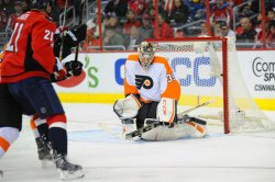 Washington Capitals vs Philadelphia Flyers in Washington
