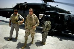 Adm. Mike Mullen arrives in Afghanistan