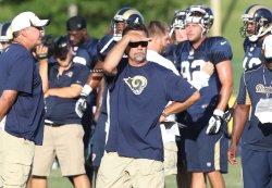 St. Louis Rams training camp