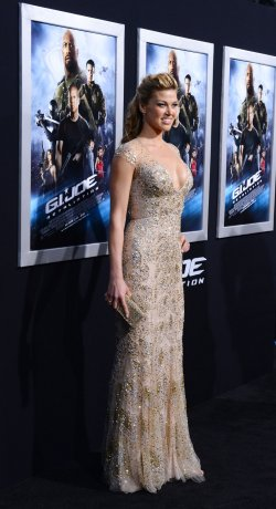 "Adrianne Palicki attends the ""G.I Joe: Retaliation"" premiere in Los Angeles"