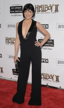 """Hellboy II: The Golden Army"" premieres in Los Angeles"