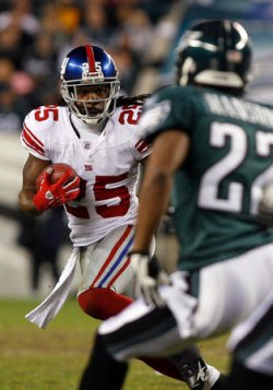 NEW YORK GIANTS VS PHILADELPHIA EAGLES NFL WILD CARD WEEKEND