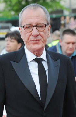 """Geoffrey Rush attends """"National Movie Awards"""" in London"""