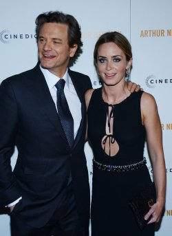 "Colin Firth and Emily Blunt attend the ""Arthur Newman"" premiere in Los Angeles"