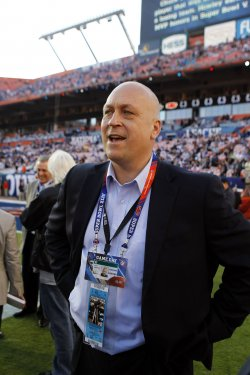 Cal Ripken attends Super Bowl XLIV Indianapolis Colts vs. New Orleans Saints in Miami