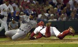 St. Louis Cardinals vs Milwaukeee Brewers baseball
