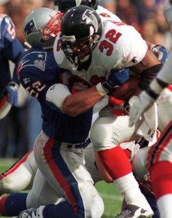 New England Patriots vs Atlanta Falcons football