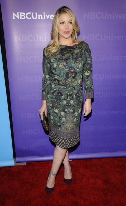 Christina Applegate attends the NBC Universal Press Tour All-Star Party in Pasadena, California