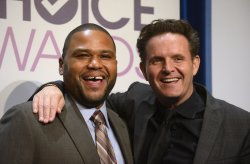 Anthony Anderson and Mark Burnett participate in the People's Choice Awards 2013 Nomination Announcements in Beverly Hills