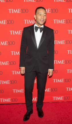 John Legend arrives at the TIME 100 Gala in New York