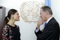Crown Princess Victoria of Sweden at the United Nations