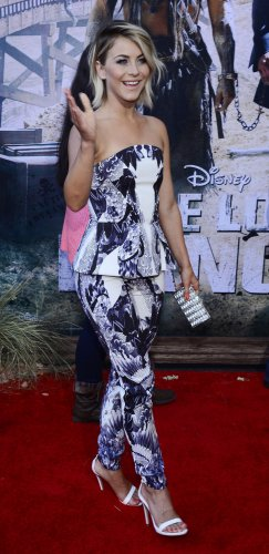 "Julianne Hough attends ""The Lone Ranger"" premiere in Anaheim, California"