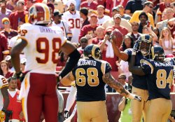 St. Louis Rams vs. Washington Redskins in Landover, Maryland