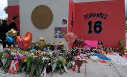 Miami Marlins Jose Fernanedez Memorial at Marlins Park