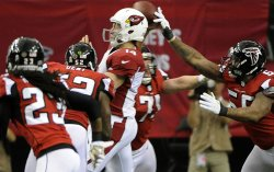 The Atlanta Falcons play the Arizona Cardinals in Atlanta