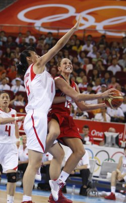 Olympic Women's Basketball USA vs. China in Beijing
