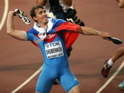 Shubenkov Wins 110 Meter Hurlde Final at the World Championships in Beijing