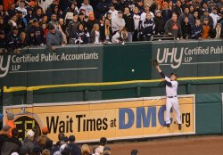 ALCS New York Yankees at Detroit Tigers Game Three