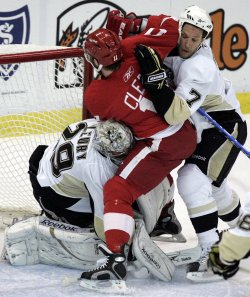 NHL Stanley Cup Final Pittsburgh Penguins vs. Detroit Red Wings